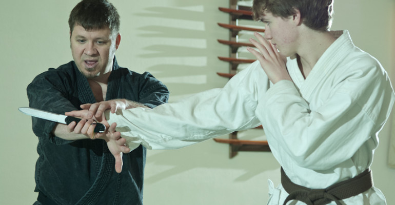 the dojo knife training